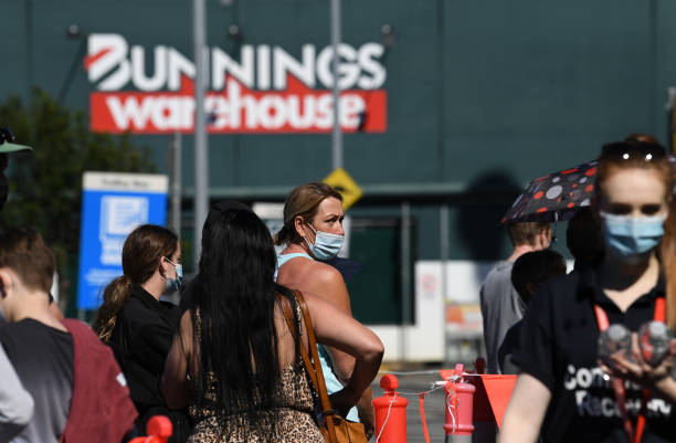 AUS: Pop-Up COVID-19 Vaccination Clinics Open At Bunnings Stores Across Queensland