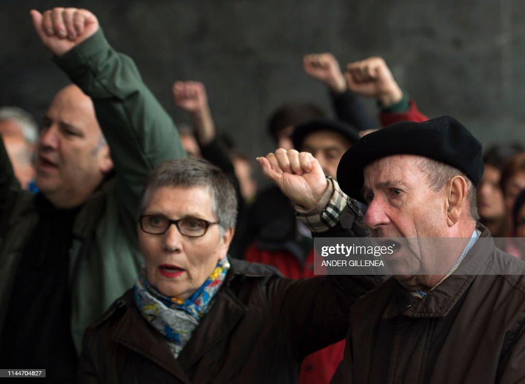 SPAIN-ETA-ARREST-DEMO : News Photo