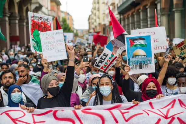 ITA: Palestinian Solidarity Protest In Bologna