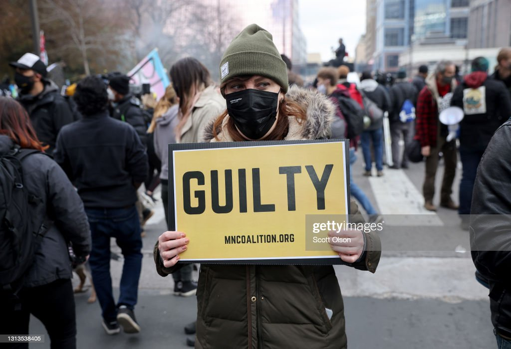 Minneapolis Reacts To Verdict In Derek Chauvin Trial : News Photo