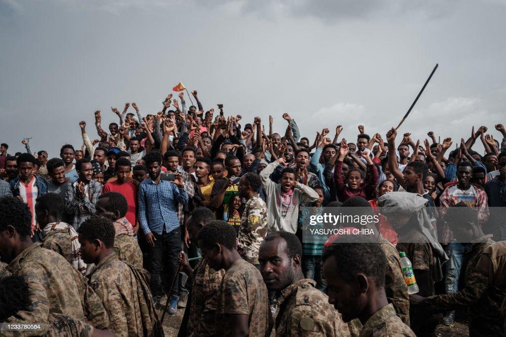 TOPSHOT-ETHIOPIA-TIGRAY-UNREST-CONFLICT : News Photo