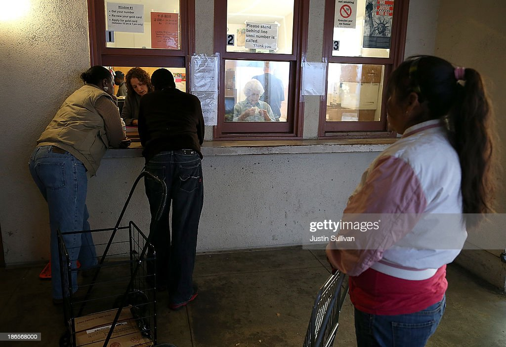 Federal Funding Cuts To Food Stamp Program Take Affect Today : News Photo