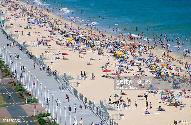 Virginia Beach Boardwalk Stock Pictures