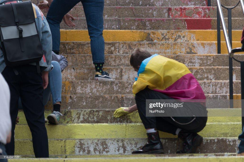 FRA: International Day Against Homophobia In Nantes