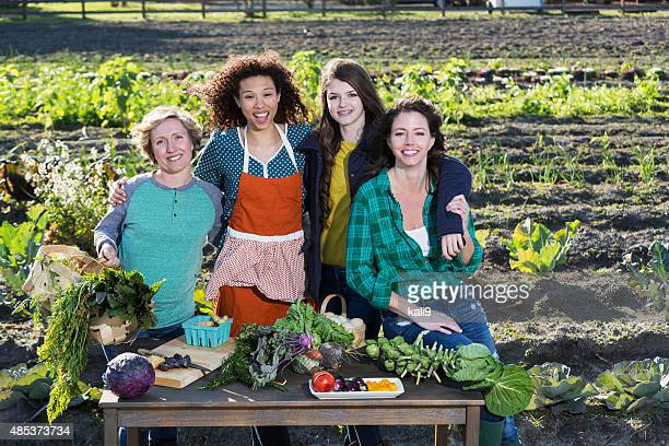 People representing farm-to-table movement