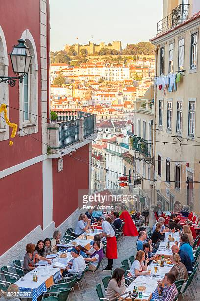 People & Restaurants, Calcada do Duque, Lisbon