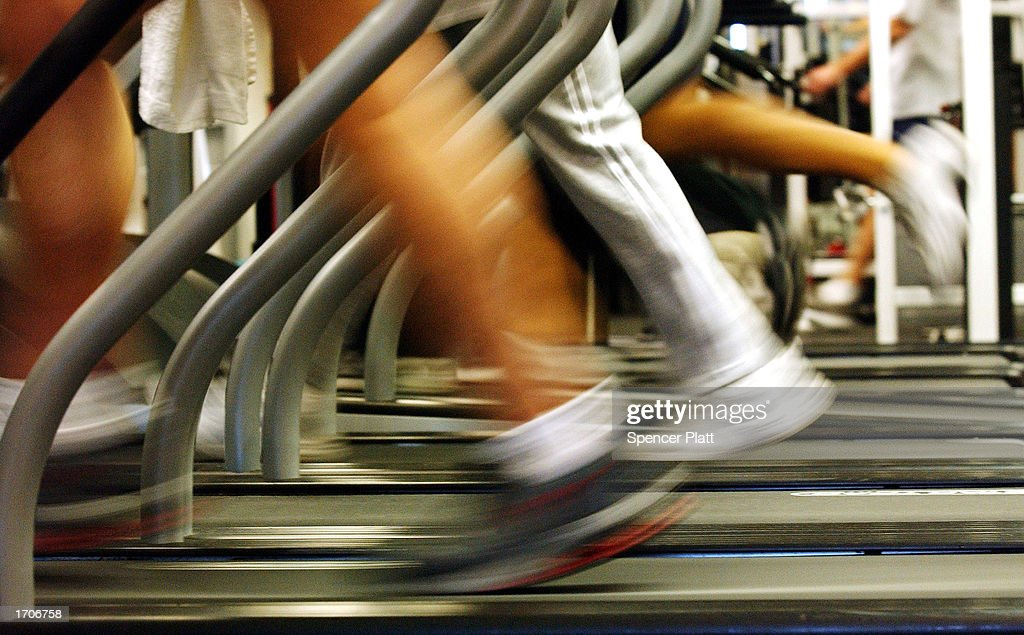 New Year's Resolutions Send Thousands To The Gym : News Photo
