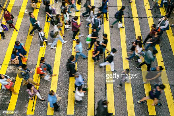 People Rush in  Hong Kong