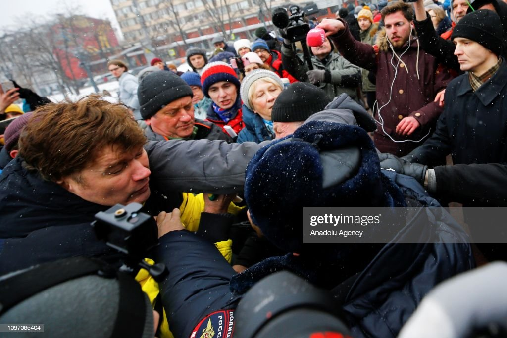 Mothers' anger march in Moscow  : News Photo