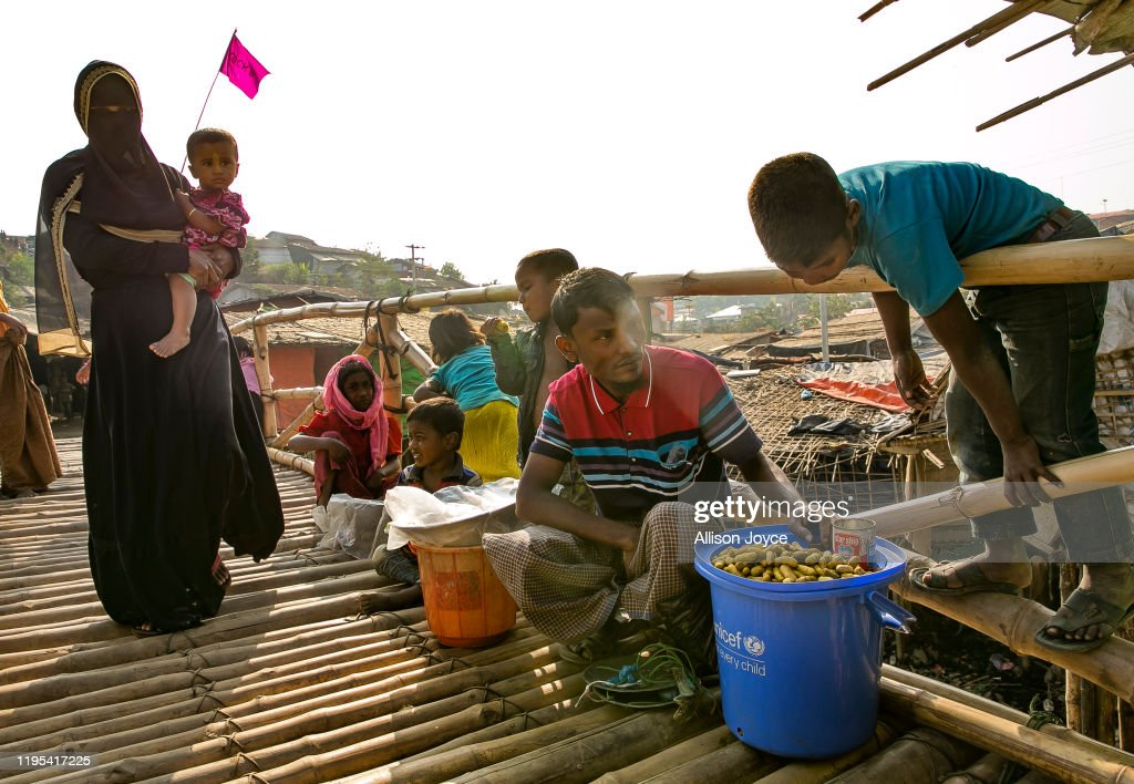 Myanmar Faces Charges Of Genocide : News Photo