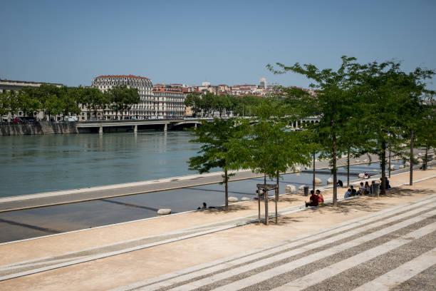 FRA: High Heat In Lyon, France