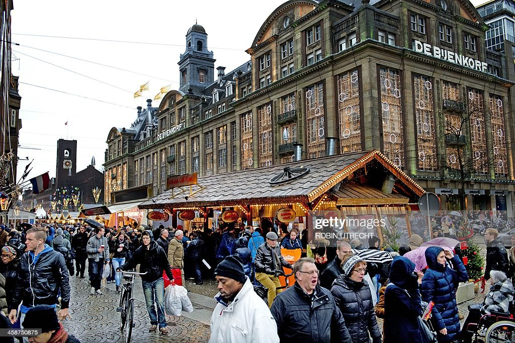 Amsterdam's Christmas market continues after the festive period until February 4th 2018.