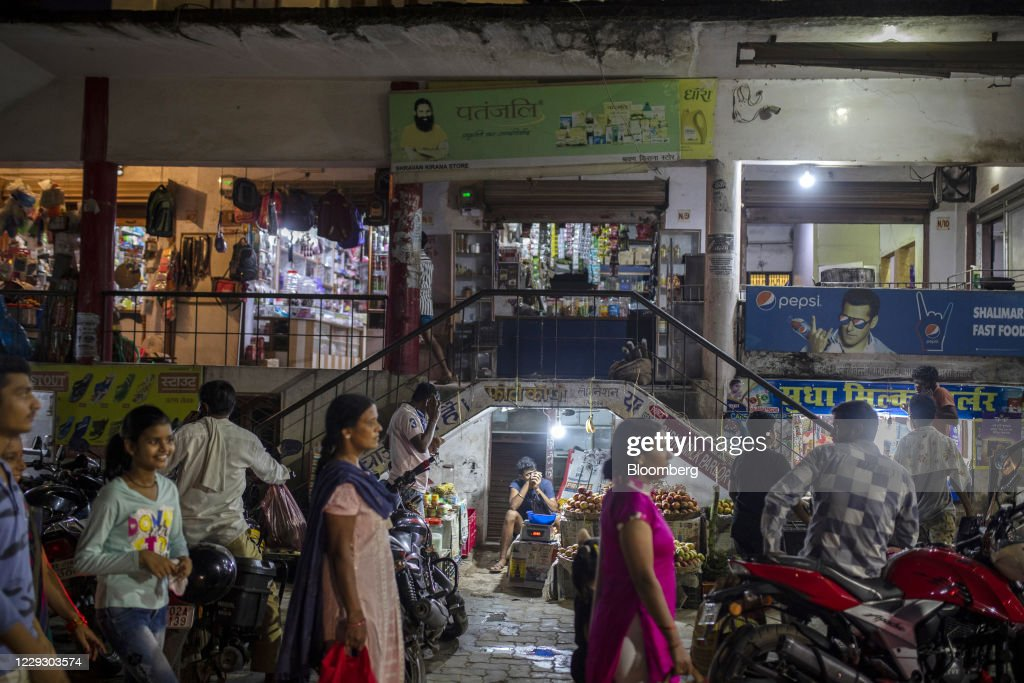 General Economy in Bihar Ahead of State Election as Voters Blame Anyone But Modi for Indias Failure to Fight Virus : News Photo
