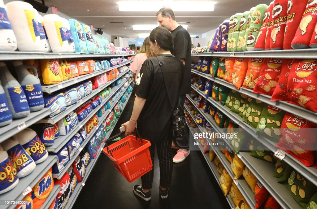 """Supermarket"" Art Exhibition Full Of Items You Can't Really Eat"
