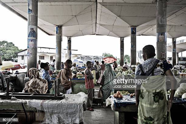 People shop in the market of Moroni capital of the Union of Comoros on March 7 2008 The government of the Indian Ocean archipelago of Comoros said...