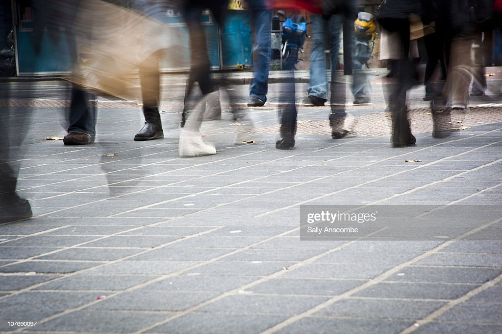 People shopping : Foto stock