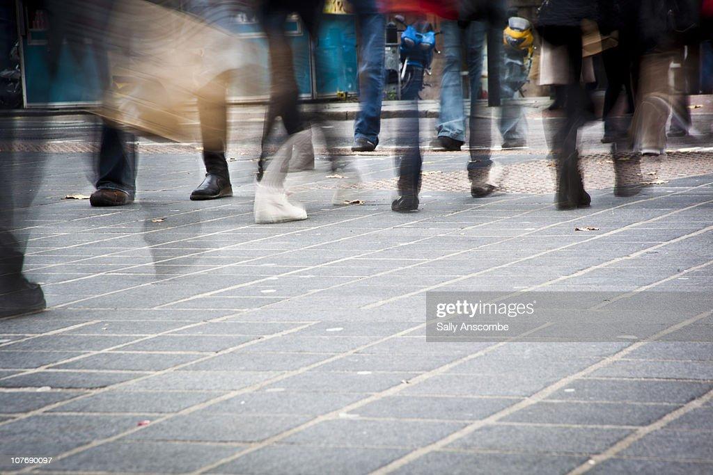 People shopping : Stockfoto