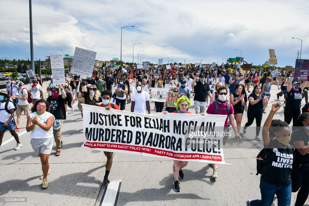 Rally Held In Colorado Demanding Justice For Elijah McClain : News Photo