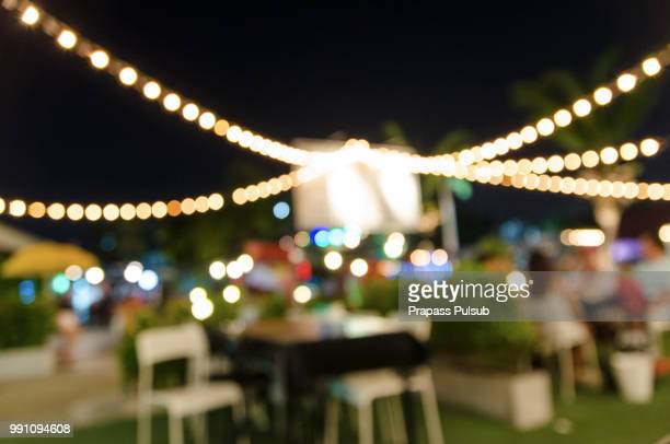 people sit in a blur banquets. - party social event stock pictures, royalty-free photos & images