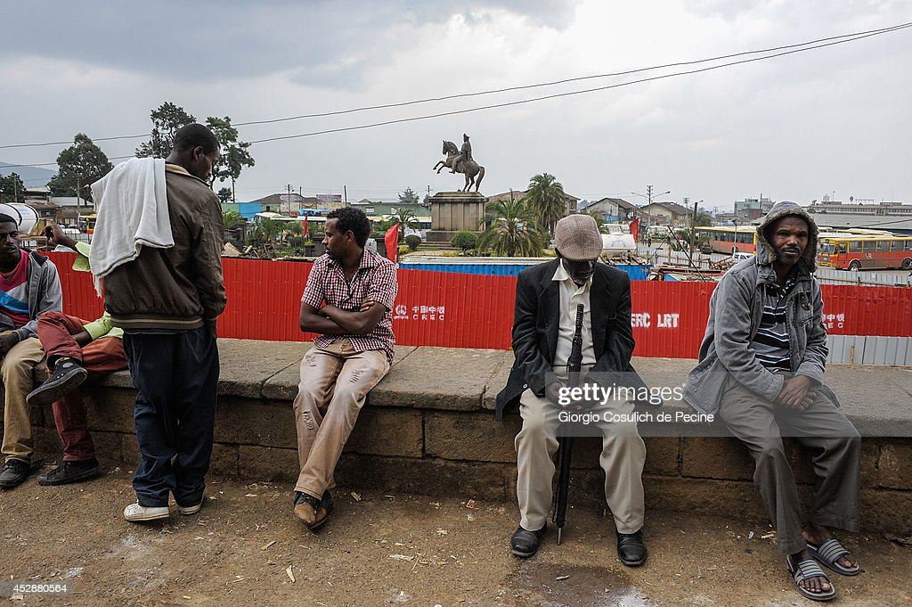 Life In The Ethiopian Capital Addis Ababa : News Photo