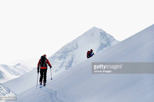 People skiing