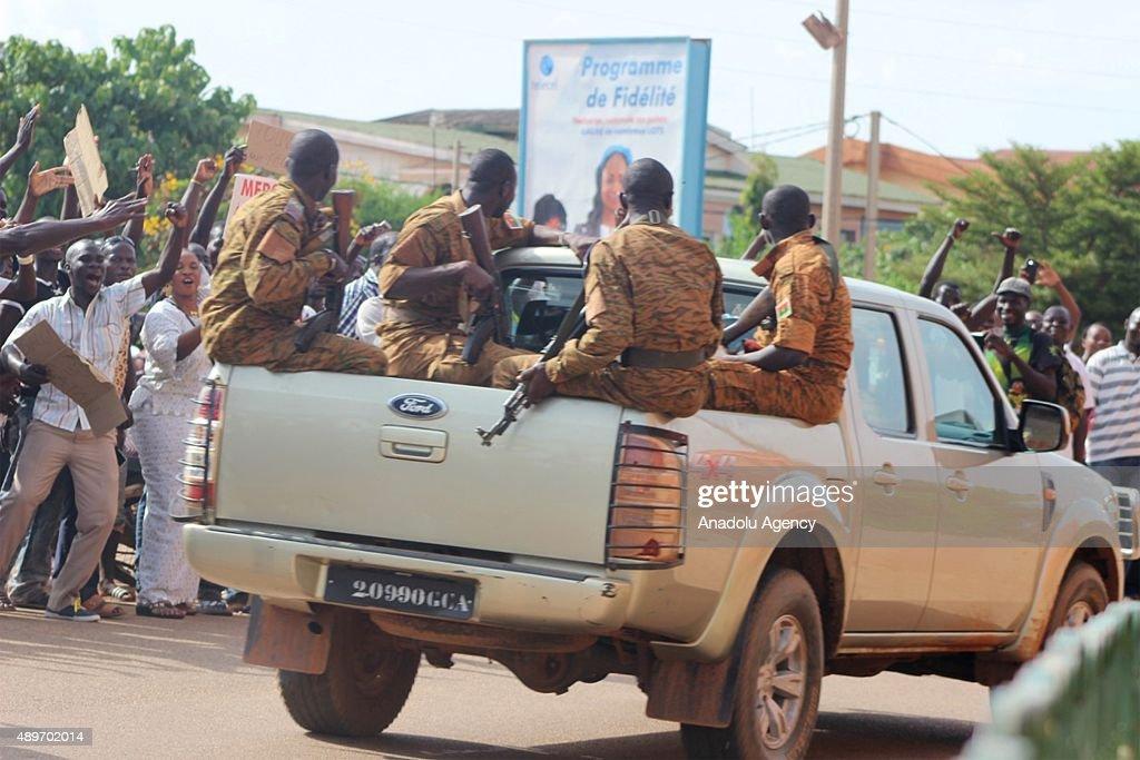 Coup on Burkina Faso : News Photo