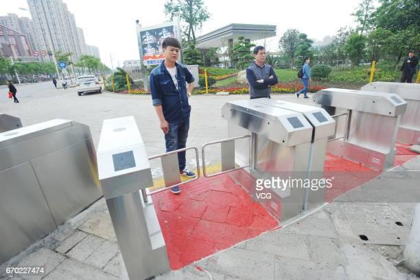 17 Barrier Gates Regulate Jaywalkers In Wuhan Pictures