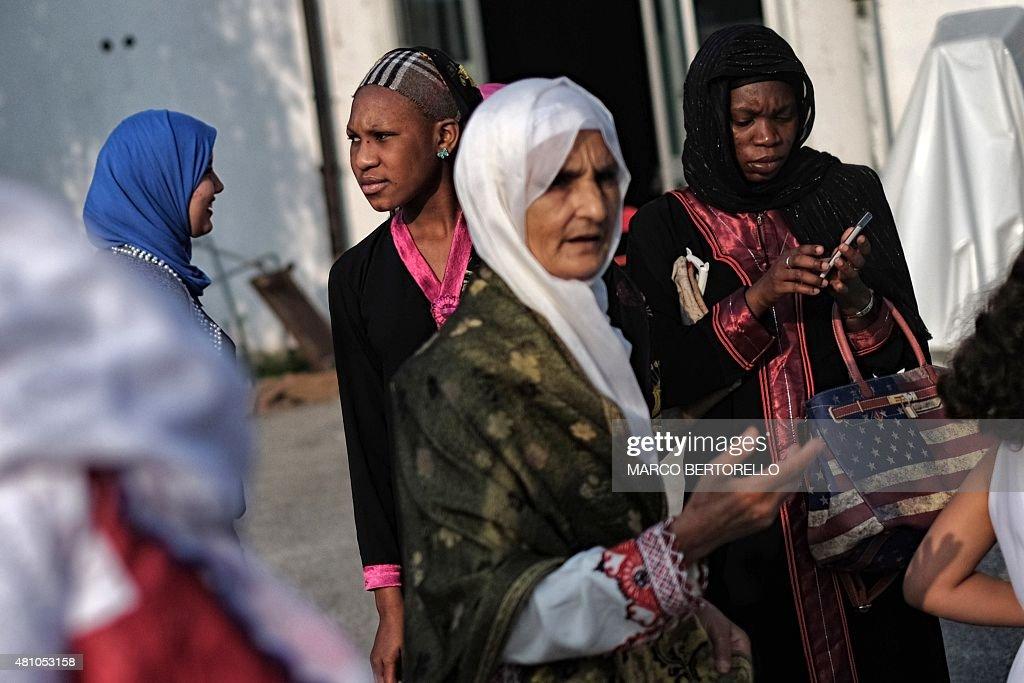 ITALY-RELIGION-ISLAM-EID : News Photo