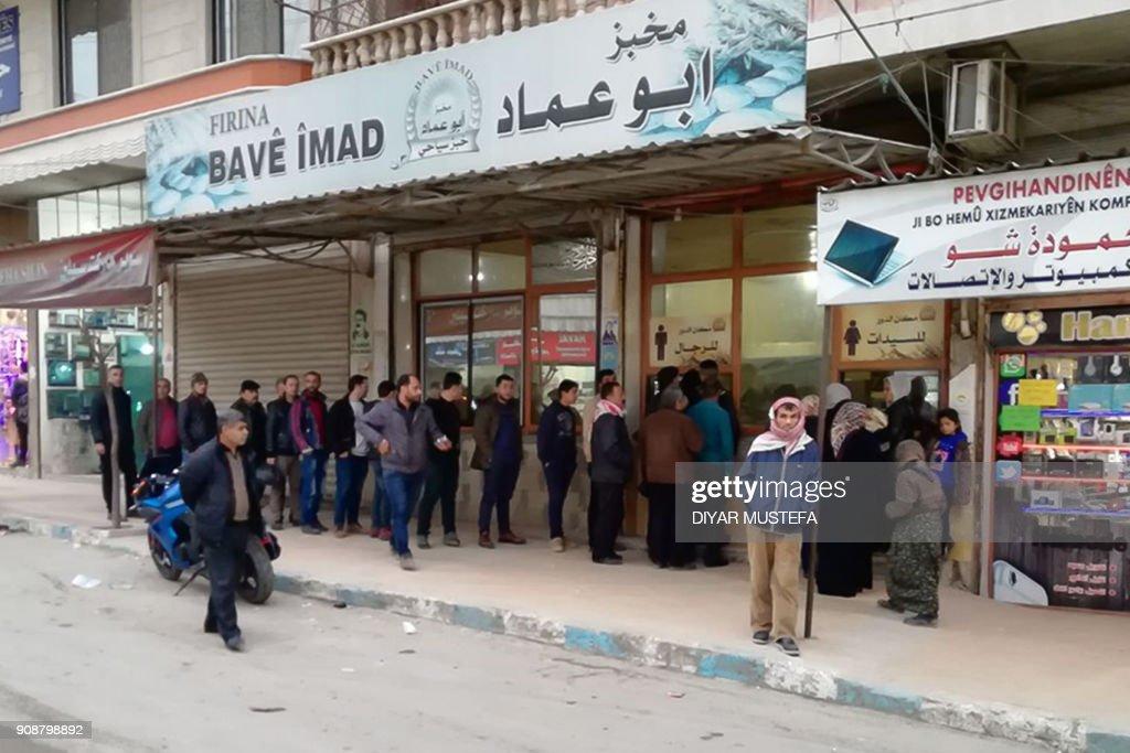 SYRIA-KURDS-TURKEY-CONFLICT : News Photo