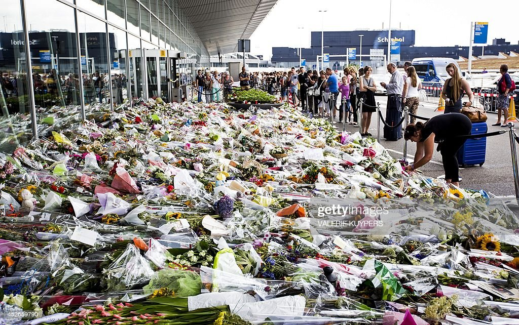 NETHERLANDS-UKRAINE-MALAYSIA-CRISI-CRASH-VICTIMS : News Photo