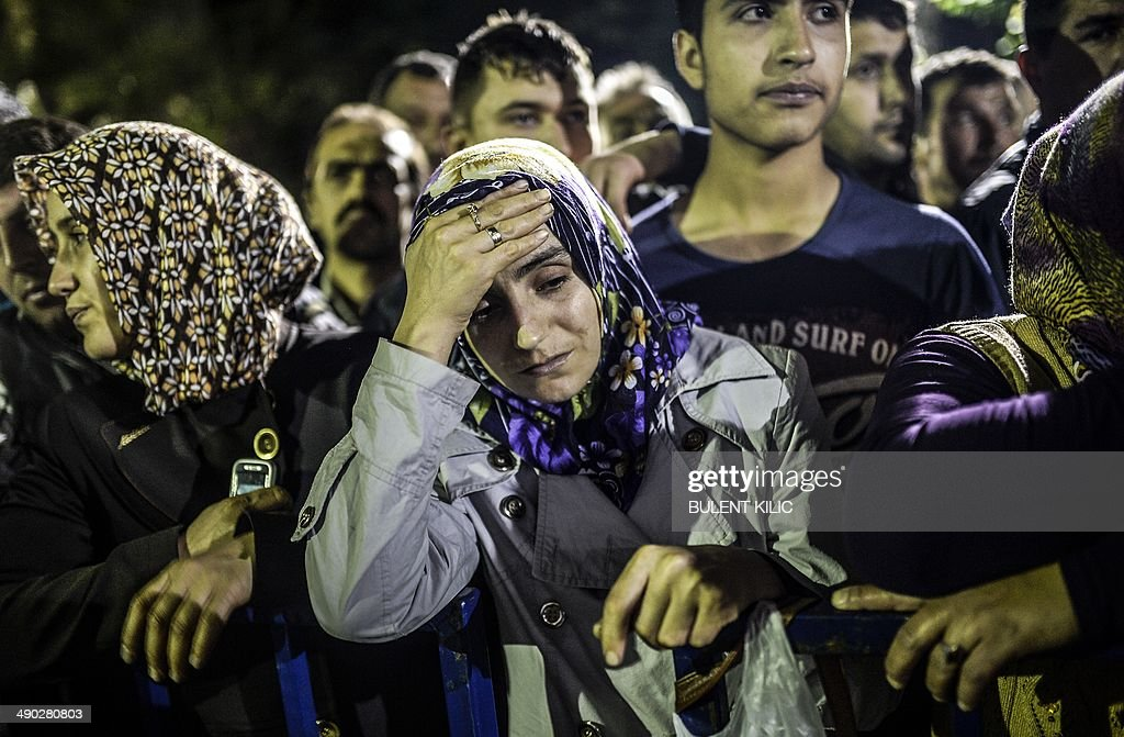 TURKEY-MINING-ACCIDENT : News Photo