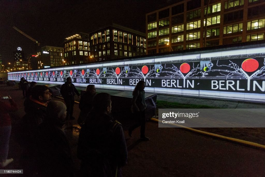 Berlin Launches Events To Celebrate 30 Years Since Fall Of The Berlin Wall : News Photo