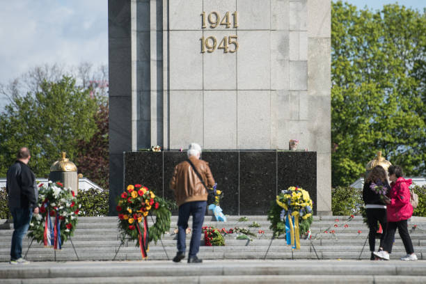 DEU: Germany Marks 76th Anniversary Of VE Day