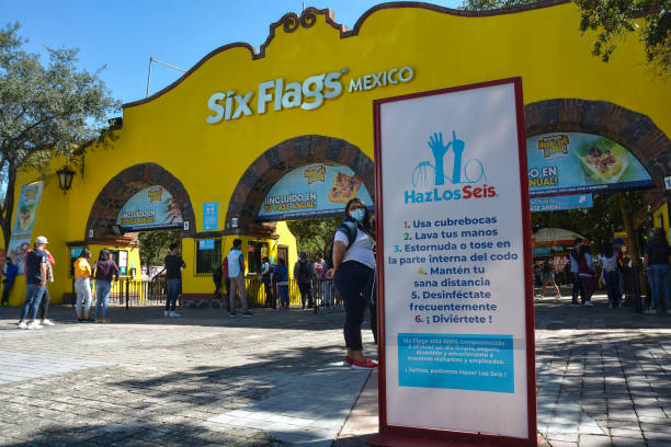MEX: Mexico City Six Flags Reopens After COVID-19 Lockdown