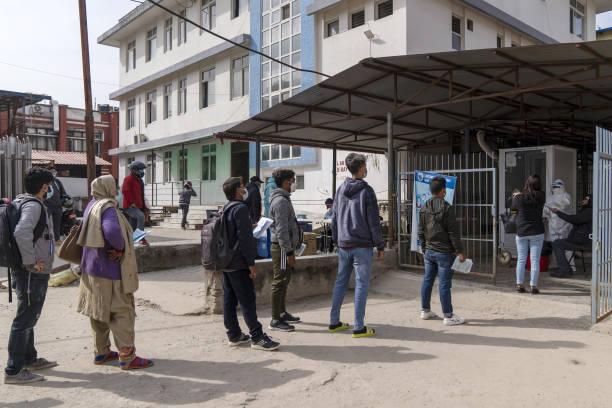 NPL: Coronavirus Testing in Kathmandu