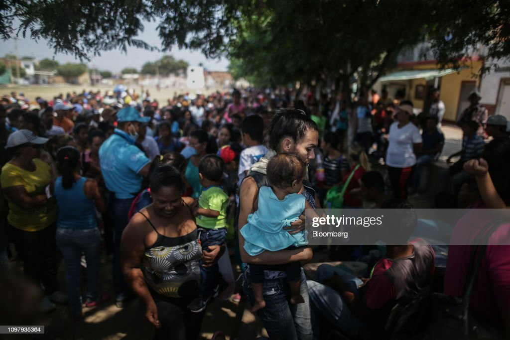A Border Shelter Offers Aid While Maduro Blocks Supplies From Reaching Venezuela : News Photo