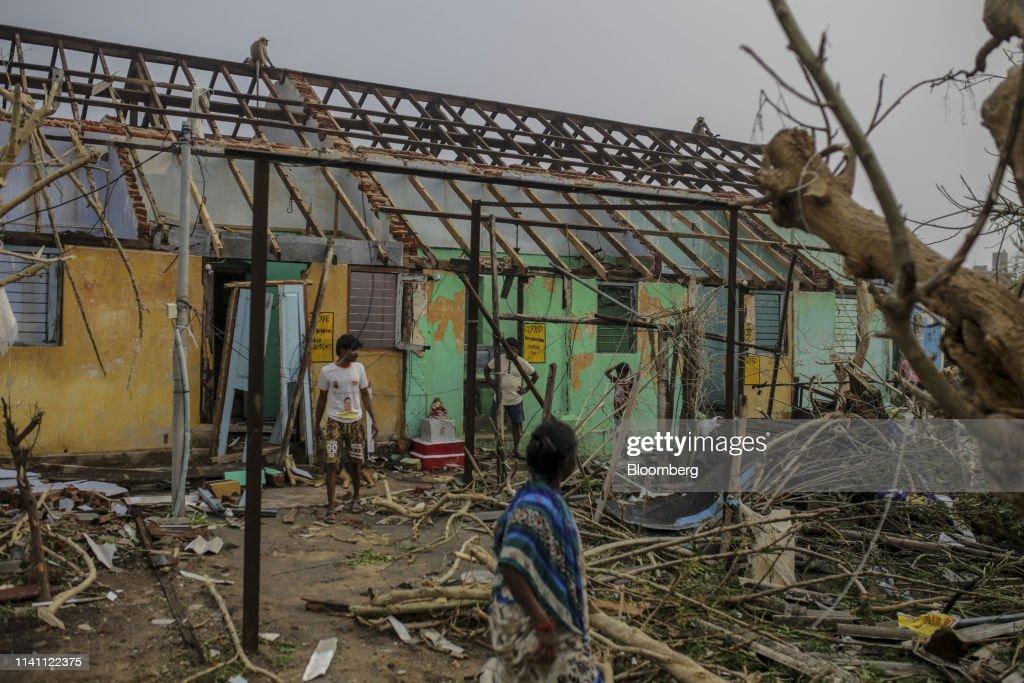 India's Strongest Storm Since 2014 to HitsOdishaCoast : News Photo