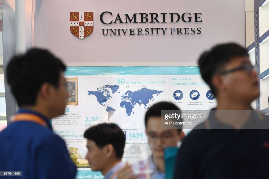 CHINA-BRITAIN-EDUCATION-CENSORSHIP : News Photo