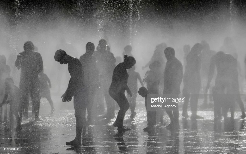 Hot weather in Spain : News Photo
