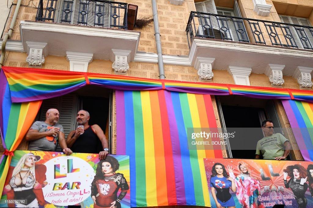 SPAIN-LGBT-PRIDE-RACE : News Photo