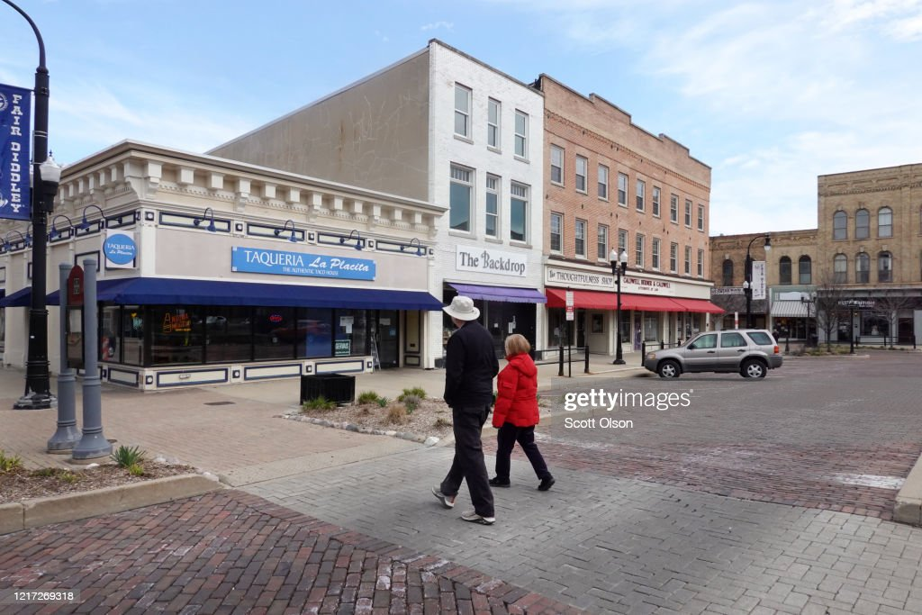 Small Towns Cope With Shutdowns During COVID-19 Pandemic : News Photo