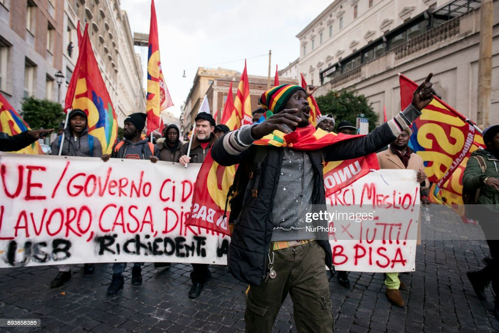 'Fight for Right' demo in Rome