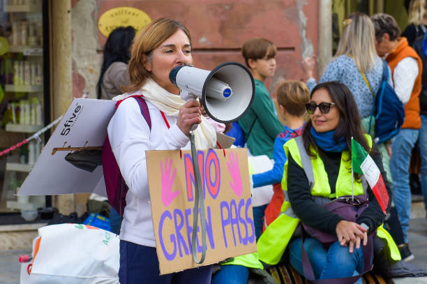 ITA: No Green Pass Protests As Italy Makes It Mandatory In The Work Place