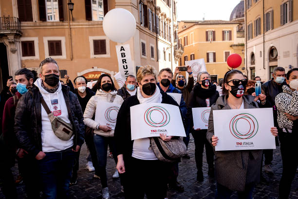 ITA: Italian Restaurateurs Protest And Demand Government Subsidies