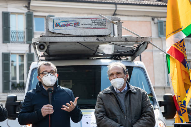 ITA: Protest in Italy Against COVID-19 Restrictions
