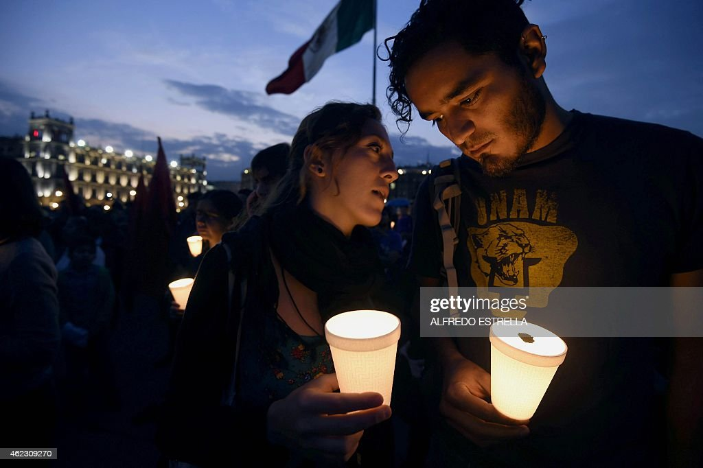 MEXICO-STUDENTS-CRIME-PROTEST : News Photo
