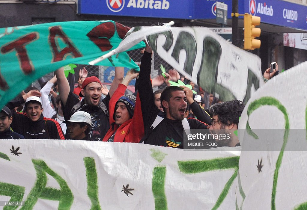 People take part in a march for the lega : News Photo