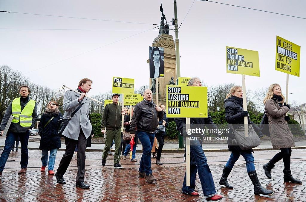 NETHERLANDS-SAUDI ARABIA-DEMO : News Photo