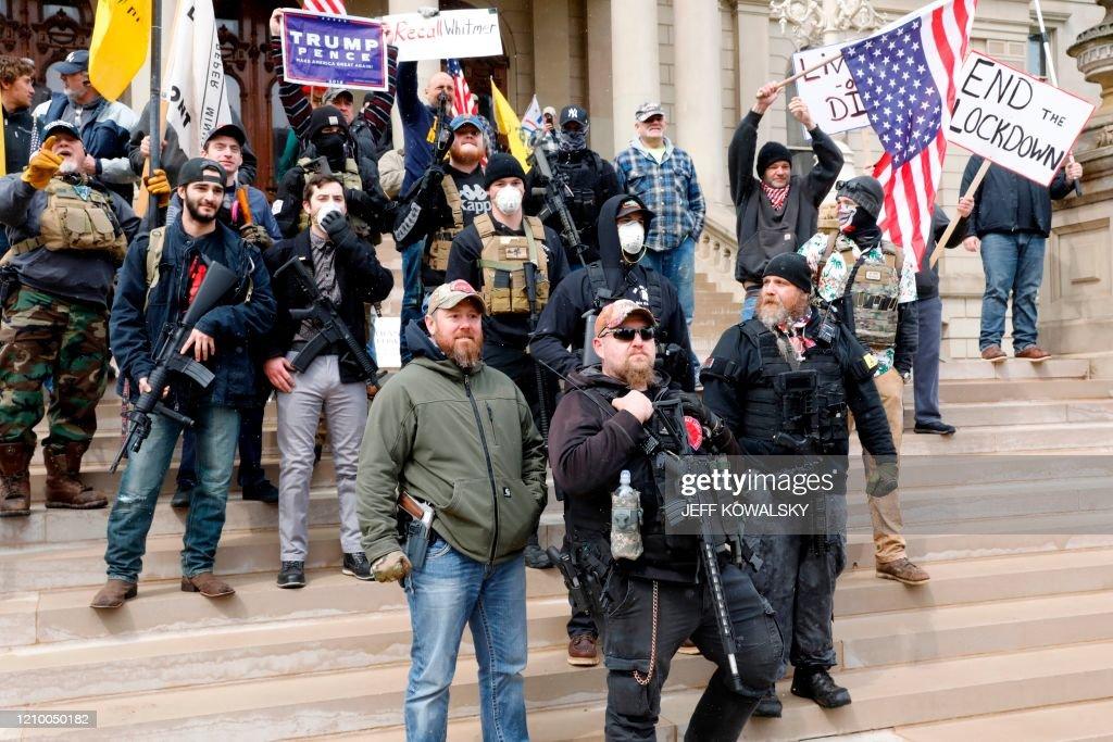 US-HEALTH-VIRUS-PROTEST : News Photo