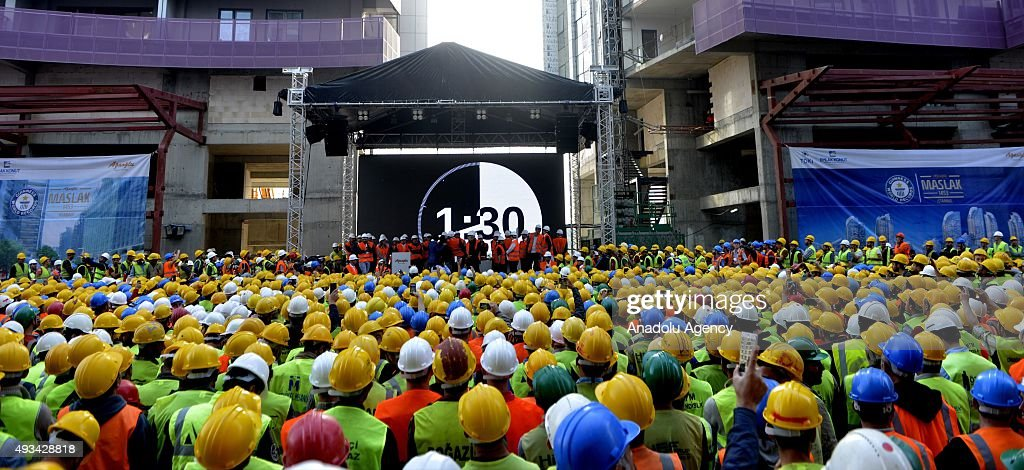 Agaoglu Corporate Group enters Guinness World Records : News Photo